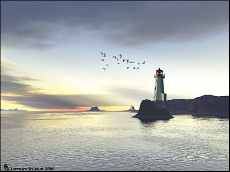 Terragen Lighthouse