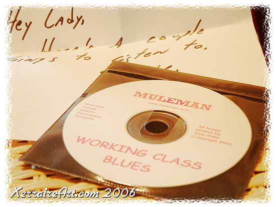 Muleman CD Working Class Blues
