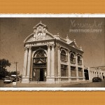 Town hall of York WA old vintage style
