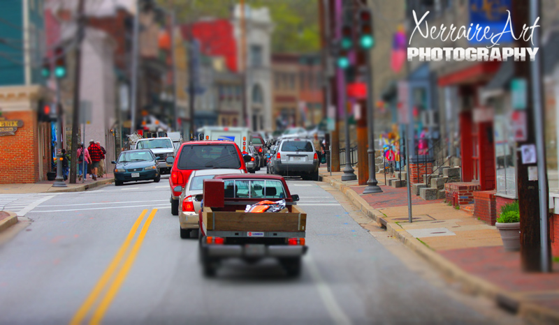 ellicott city maryland tilt shift