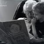 Yaya reading to SIlas