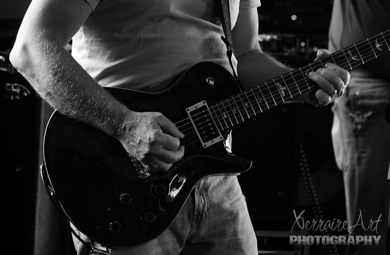 Jimmy at guitar