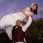 groo lifts bride