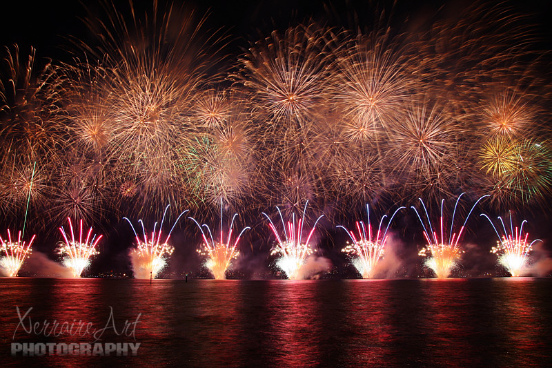 Australia Day Fireworks in Perth