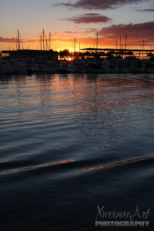 Hillary's Boat Harbor at Sunset