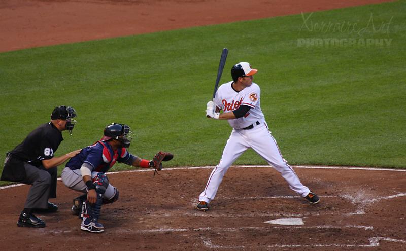 JJ Hardy Orioles Baseball, Camden yards
