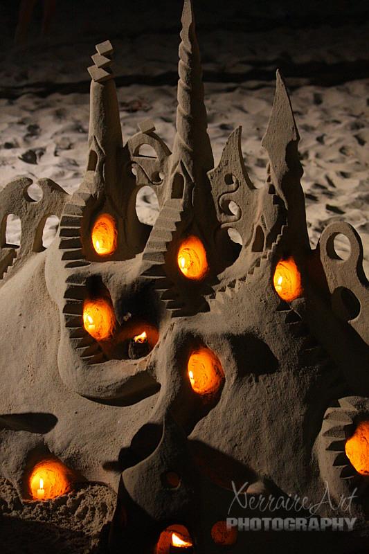 sandcastlecandles
